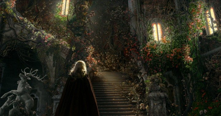 flowersstairs/beauty and the beast