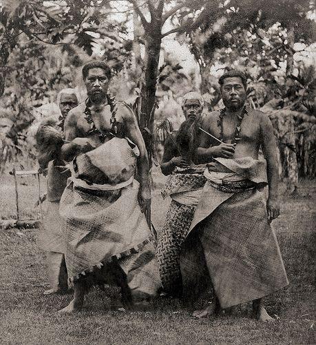 Samoan Islands, Apia, Chiefs (1870s)